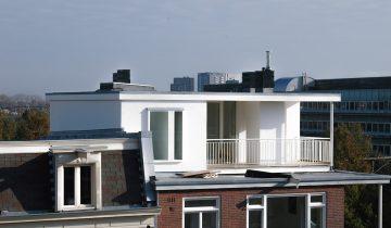 Dakopbouw Linnaeusstraat, Amsterdam