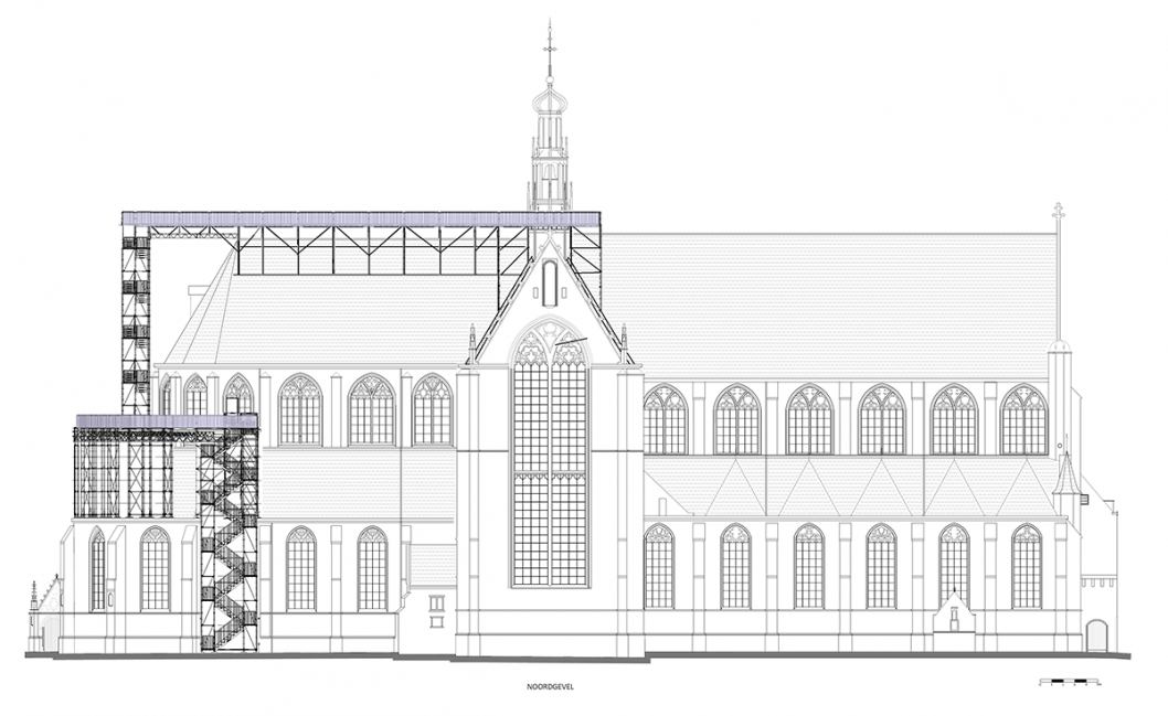 Klim naar de Hemel, Grote Kerk Alkmaar